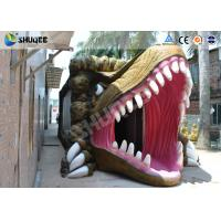 Buy cheap Dinosaur Movie Theater Equipment With Red Comfortable Chairs product