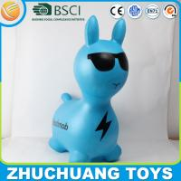 Buy cheap plastic inflatable flashmob kids rabbit toys from wholesalers