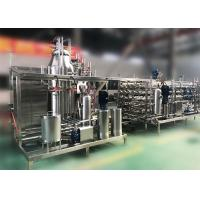 Buy cheap Dairy Milk Product Complete Milk Processing Line Low Consumption 12 months from wholesalers
