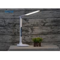 Buy cheap Foldable LCD Calendar Display LED Table Desk Lamps with USB Output Charging Port Dimmable Alarm Clock Eye Protection from wholesalers