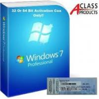 Buy cheap OEM COA License Sticker Windows 7 Professional Product Key Retail Version from wholesalers