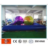 Buy cheap Commercial Interesting Inflatable Swimming Pools with Zorb Ball for park from wholesalers