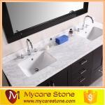 Buy cheap Cheap granite Double sink granite vanity tops from wholesalers