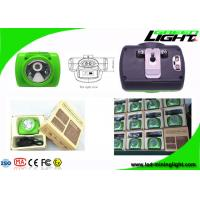 Buy cheap Energy Efficient LED Mining Cap Lamp Detachable structure with Push Button from wholesalers