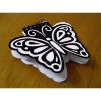 Buy cheap Butterfly Shape Spring Notebook,Memo Pad from wholesalers