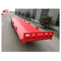 Buy cheap 13 Meters 3 Axles 48 Ft Aluminum Flatbed Trailer 13165x2550x1500mm product