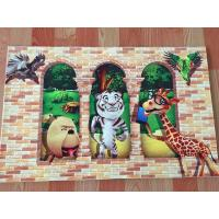 Buy cheap beautiful indoor 3D Printing cartoon floor carpet from wholesalers