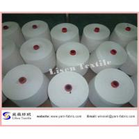 Buy cheap T90/C10 Cotton polyester blended yarn 45S from wholesalers