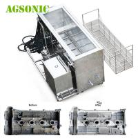 Buy cheap Cylinder Head Ultrasonic Washing Machine For 16 / 20 Cylinders To Clean 10 Heads At A Time from wholesalers