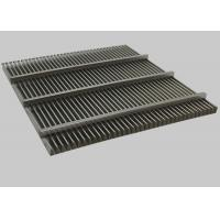 Buy cheap Stainless Steel V-shaped Profile Wire Screen, Johnson Wedge Wire Welding Screen from wholesalers