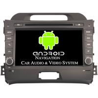 Buy cheap 2011 - 2015 Kia Sportage Video Android Car Stereo Head Unit Max External Memory 3G from wholesalers