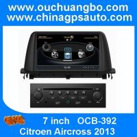 Buy cheap Ouchuangbo DVD Multimedia  GPS Navigation Stereo Radio Citroen Aircross 2013 S100 USB SD from wholesalers