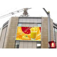 China Wall Mounted P6 Outdoor Fixed Led Display Panels Low Power Consumption on sale