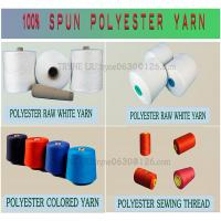 Buy cheap spun polyester yarn ,raw white paper cone yarn,spun polyester sewing thread yarn,thread,sewing thread from wholesalers