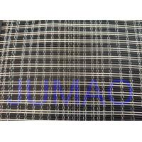 Buy cheap Black And Silver Color Metal Glass Laminated Mesh Fabric For Art Glasses product