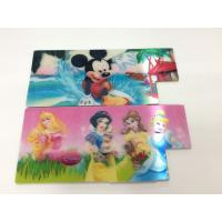 Buy cheap 3D Motion Moving PET 3D Lenticular Stickers CMYK Offset Prining For Kids Pencils Case from wholesalers