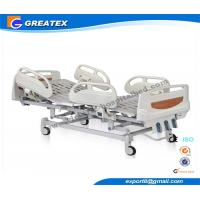 Buy cheap 3 Crank Medical Adjustable Manual Hospital Bed ABS Handrail OEM Available from wholesalers