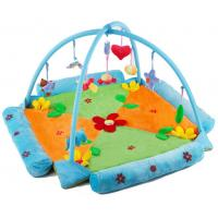 Buy cheap Lovely Flower Blue Baby Play Gyms , Indoor Play Gyms For Toddlers from wholesalers