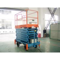 Buy cheap 16M Height CE Certified Hydraulic Mobile Scissor Lift with 500Kg Load and AC Power from wholesalers