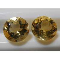 Buy cheap Natural Citrine Gemstones Round Loose Calibrated Briolettes Faceted cut  from wholesalers