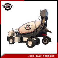 Buy cheap Concrete mixer machine 5.5 cubic meters self loading concrete mixer truck for sale from wholesalers