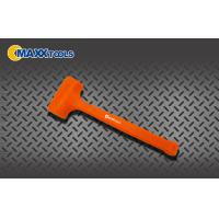 Buy cheap Safety Orange Rubber Dead Blow Hammer Mallet 0.5lb - 4lb With PVC Handle from wholesalers