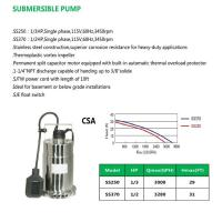 Buy cheap SUBMERSIBLE PUMP SS250 SS370 product
