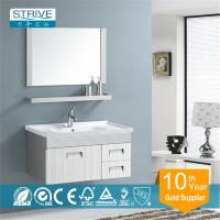 Buy cheap wall mounted stainless steel bathroom mirror cabinet from wholesalers