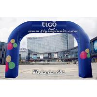 Buy cheap Cheap Full Printing Advertising Inflatable Arch for Shop and Events from wholesalers