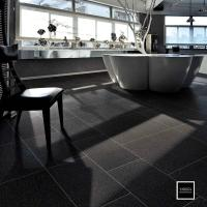Buy cheap Non Slip Matt Finish Black Kitchen Wall Tiles 24x24 Polished Porcelain Tile product