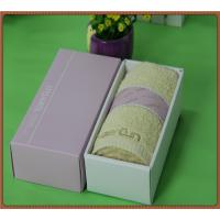 Buy cheap High Quality hot selling 100% Cotton Fashion Wedding Gift Towel with your design product