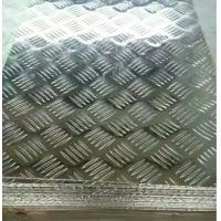 Buy cheap 1100 Anodized Aluminum Plate Stucco Embossed Refrigeration Construction Support from wholesalers