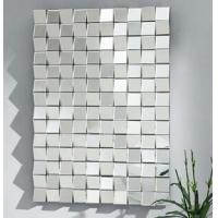 Buy cheap Hanging Framless 3D Wall Mirror For Home Decorative Beveled Edge 80 * 120cm from wholesalers