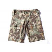 Buy cheap Waterproof Tactical Cargo Shorts Mandrake Lightweight Slim Fit Breathable Material from wholesalers