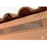 Buy cheap Commercial Building Custom Aluminum Facade Cladding Brown Colored from wholesalers