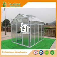 Buy cheap 258X191X218CM White Color Imperial Series Single Door Polycarbonate Greenhouse from wholesalers