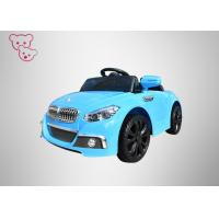 Buy cheap Blue 10A  Baby Electric Car With LED Flashing Lights PP Plastics OEM Acceptable from wholesalers
