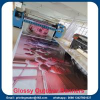 Buy cheap Large Format Printing Custom Vinyl Banners with Grommets from wholesalers