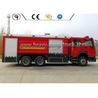 Buy cheap 10000 Liters 371HP Emergency Rescue Vehicles 6*4 16000L Fire Fighting Truck from wholesalers