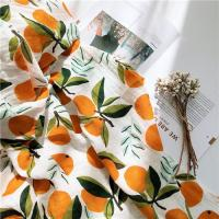 Buy cheap 6 Layers Natural Baby Muslin Wraps With Cartoon Printed Design Anti Pilling from wholesalers