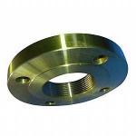 Buy cheap Alloy Steel NPT Thread Flange Supplier: ASTM A182 F11, F22 NPT Thread Flanges, Golden, RF, EN1092-1, DIN 2638, DIN 2642, from wholesalers