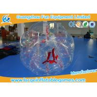 Buy cheap Clear Inflatable Bubble Ball Red Straps Adults Inflatable Belly Ball Bump Bubbles product