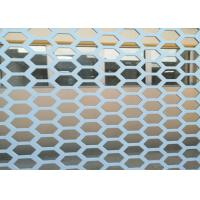 Buy cheap Hexagonal 1 Inch Hole Perforated Metal Mesh Wind Dust Fence For Decorative from wholesalers