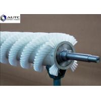 Buy cheap Rotating Roller Spiral Wire Brush Customized Soft Bristle Easily Installed from wholesalers