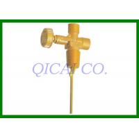 Buy cheap Customize natural gas Tank Valves , V118 / Outlet thread G3/8-19LH from wholesalers