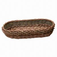 Buy cheap Natural willow wicker bread trays, wicker bread baskets, willow cheese baskets, TR7025-OV from wholesalers