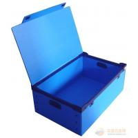 Buy cheap Recyclable Reusable Moving Storage Corrugated Plastic Boxes correx box White / blue from wholesalers