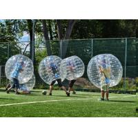 Buy cheap 1.5m TPU Human Inflatable Bumper Bubble Ball For Adult With Logo Printing And Blower from wholesalers