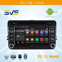 Buy cheap Android 4.4 car dvd player GPS navigation for VW 7 inch/ Volkswagen sagitar/passat B6/polo from wholesalers