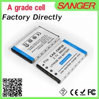 Buy cheap Digital camera battery for casio CNP20 with shenzhen factory price from wholesalers